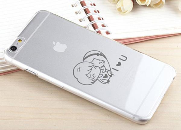 手机logo打标